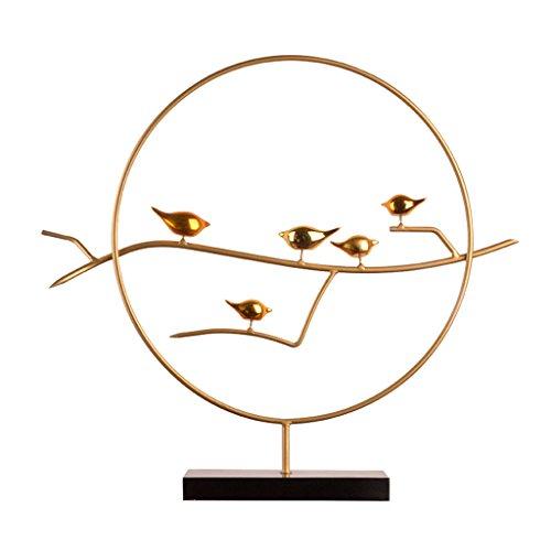 JIEYANG Nueva decoración China del Zen de la urraca Sala de Estar Creativa de la Sala de la Oficina Decoraciones Suaves Ilustraciones Simples Modernas
