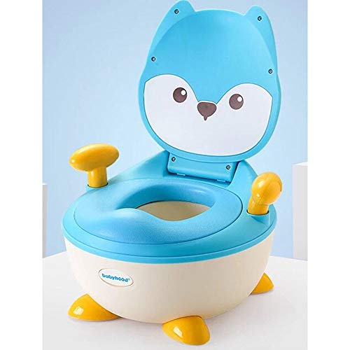 LXUA Siège de Toilette pour Enfants Siège d'apprentissage de la Toilette Potty Chair Fun pour bébés garçons et Filles - Stable et Confortable pour Les Toilettes de Votre Enfant Siège de Pot