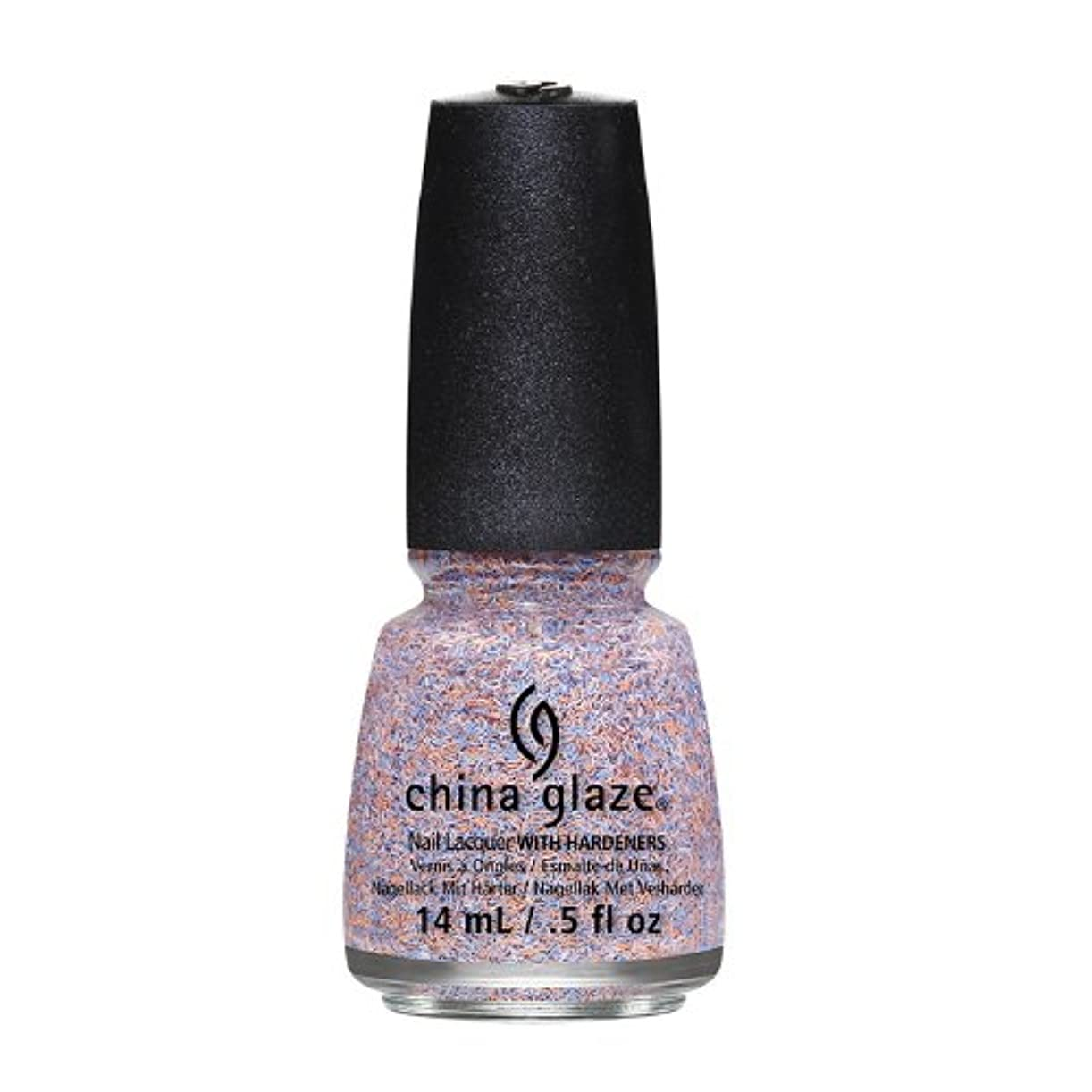 影響遊具ミニチュアCHINA GLAZE On The Horizon - Feathered Finish - All A Flutter (並行輸入品)