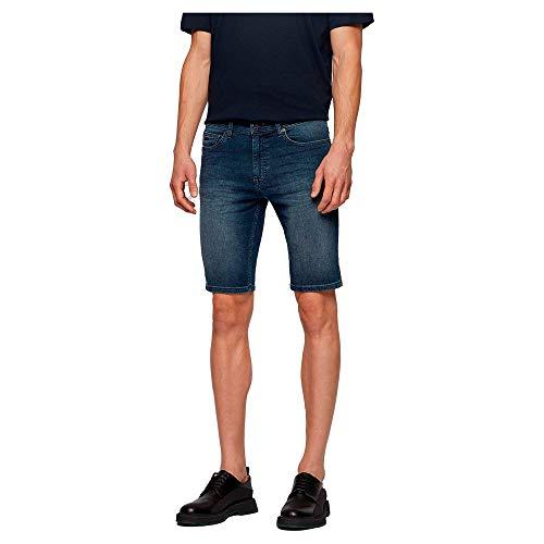 BOSS Delaware-shortsbclp 10233448 0 Pantalones Vaqueros, Navy410, 34 para Hombre