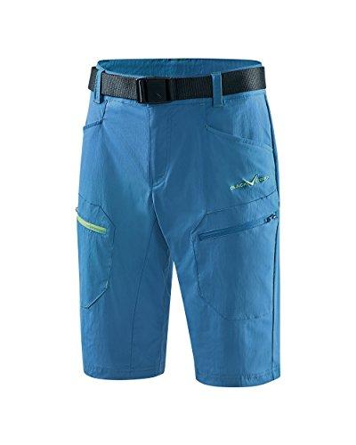 Black Crevice Short de Trekking pour Homme, Bleu, XL