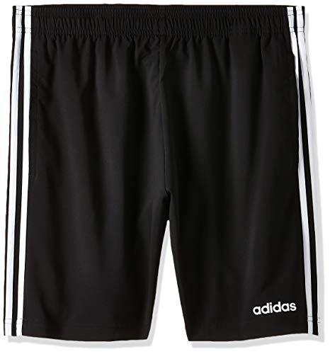 adidas Essentials 3-Stripes Chelsea, Pantaloncini Uomo, Nero (Black/White), M