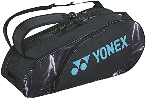 ヨネックス YONEX テニスバッグ ラケットバッグ6〔テニス6本用〕 BAG2222R(007) 007:ブラック