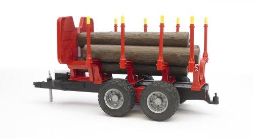 bruder 02251 - Rückeanhänger mit 4 Baumstämmen