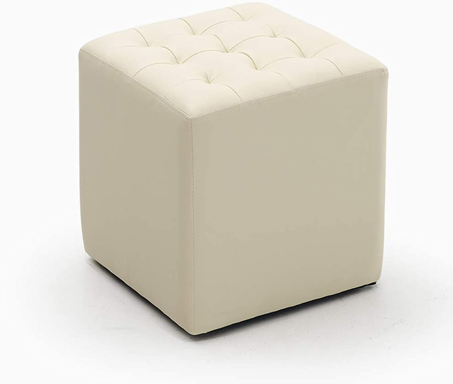 Stools shoes Benches Benches Sofa stools Storage Soft and Comfortable PVC Material, Suitable for The Family Store Living Room, (34.5  34.5  36CM)