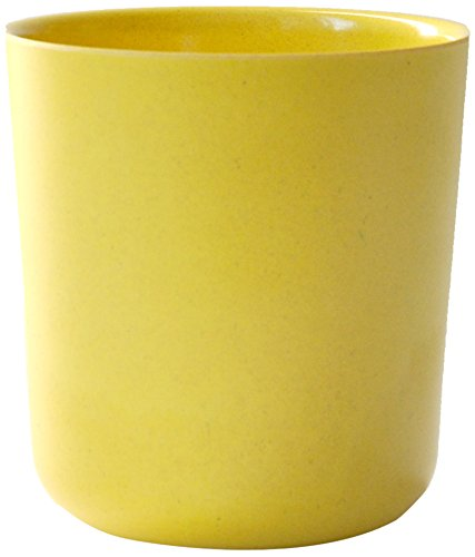EKOBO Gusto Trinkbecher, 330 ml, lemon, aus Bambus / Melamin, FSC-zertifiziert, BPA-frei, spülmaschinengeeignet