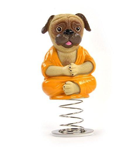Archie McPhee Dashboard Pug Buddha