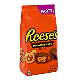 Reese's, Candy, Milk Chocolate Peanut Butter Cup Miniatures Party Bag, 35.6 oz by Hershey Foods