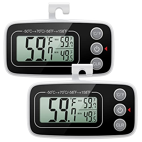 2 ORIA Digital Refrigerator Thermometers Only $11.04 (Retail $16.99)