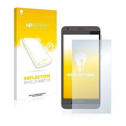 upscreen Entspiegelungs-Schutzfolie kompatibel mit HTC Desire 630 – Anti-Reflex Bildschirmschutz-Folie Matt