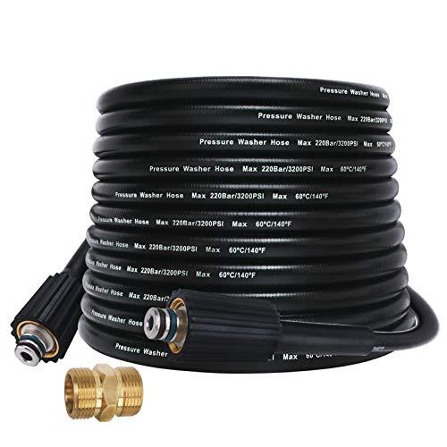 Hidrolimpiadora de alta presión 10m Manguera de limpieza de agua 32ft 160bar (Type J)