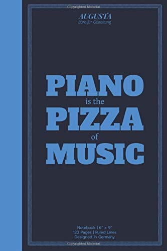 """PIANO IS THE PIZZA OF MUSIC: Notebook 