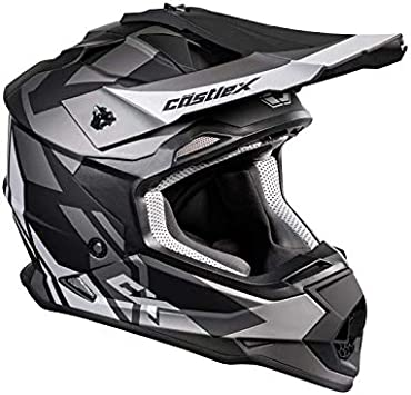 Castle X Mode MX Flow Helmet Matte White