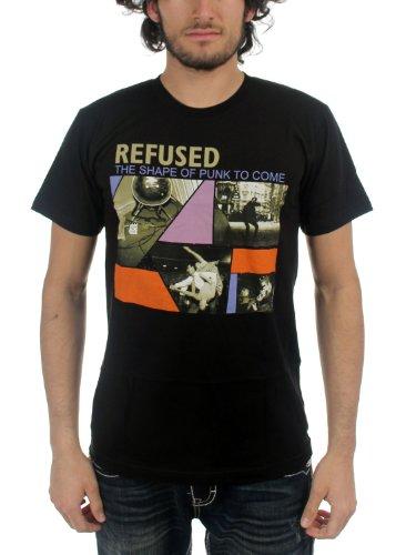 Refused Shape of Punk to Come Shirt - Black - Medium