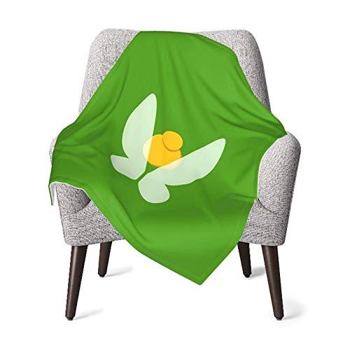 Hdadwy Divertida manta de Tinker-Bell para bebé, manta unisex para niños, manta súper suave y cálida para niños, para cuna, sillón, sala de estar, viajes, talla única