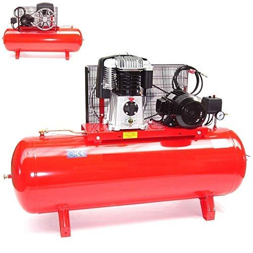 Druckluft Kompressor Kolbenkompressor 7,5PS 300l 15bar Werkstattkompressor 5,5kw, Industriekompressor, Druckluft Kompressor 400V AWZ
