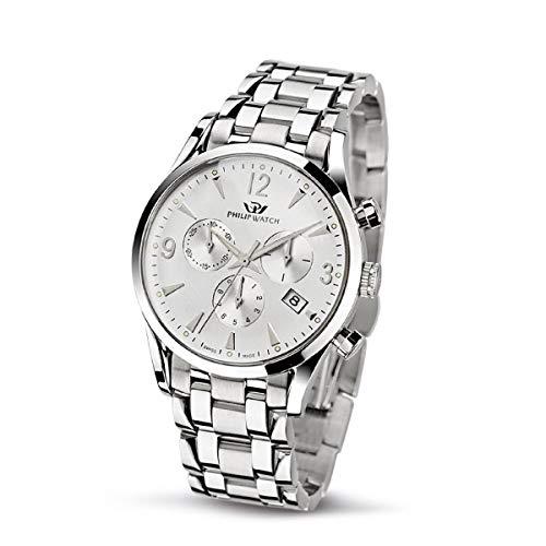 Philip Watch Orologio da uomo, Collezione SUNRAY, in acciaio - R8273908145