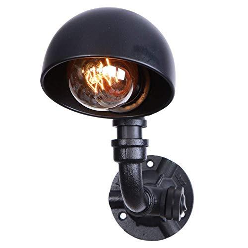 Wandlantaarn kristallen wandlamp spiegel industriële binnenverlichting wandlamp lampenkap metaal rustiek retro voor kantoor bar bedlighting 1234 mm