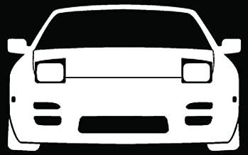 Nissan 240SX Drift JDM Car Truck Window Bumper Vinyl Graphic Decal Sticker- (20 inch) / (50 cm) Wide GLOSS WHITE Color