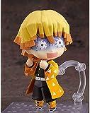 Nendoroid Q Version Demon Slayer Agatsuma Zenitsu Figuras de acción Material de PVC 10 CM de