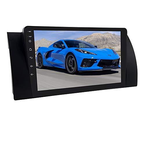 Android 10 OS di navigazione GPS per auto DSP integrato con touch screen capacitivo da 9 pollici Adatto per BMW 5-E39 / X5-E53 / M5 / 7-E38 Supporto Mirror Link BT SWC EQ WiFi