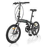 PEXMOR 20' Adult Folding Bicycle, 7...