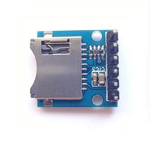 ZTSHBK 2-teiliges Mini-SD-Kartenmodul Speichermodul Micro-SD-Kartenmodul für Arduino AVR ARM