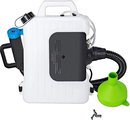 E-BEST CARE Electric Backpack Sprayer Atomizer Mist Duster Disinfectant Machine ULV Cold Fog Sprayer for Hospital, Station, School, Restaurant, Garden, Home Cleaning (10L)…