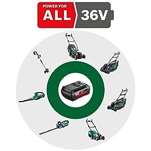 Bosch Akku Laubbläser ALB 36 LI (Akku, Ladegerät, Karton, Luftgeschwindigkeit: 180 - 260 km/h, 36 Volt System, 2,0 Ah)