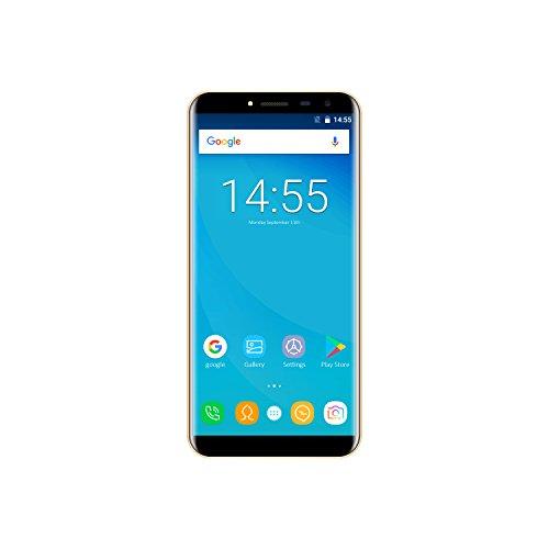 OUKITEL C8 (2020) Smartphone Without Contract 3G, Android OS Go pantalla de 5,5 pulgadas, cámara de 13 MP, batería de 3000 mAh de 2 + 16 GB, 128 GB de expansión, Dual Nano SIM, color negro
