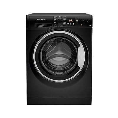 Hotpoint NSWM742UBSUKN 7kg 1400rpm Freestanding Washing Machine - Black