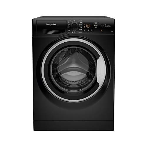 Hotpoint 7kg 1400rpm Freestanding Washing Machine - Black