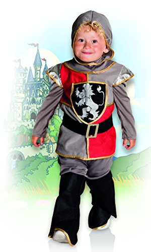 Boland 82239 – Kinderkostüm Tapferer Ritter, grau - 3