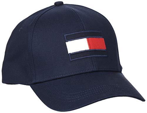 Tommy Hilfiger Big Flag Cap Casquette De Baseball, Bleu (Desert Sky Dw5), Unique (Taille Fabricant: OS) Homme