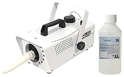 FXLAB Snow Storm II Artificial Snow Effects Machine With 250ml Venu Snow Fluid