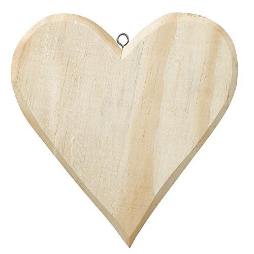 Holz-Herz ca. 21 x 19,5 cm