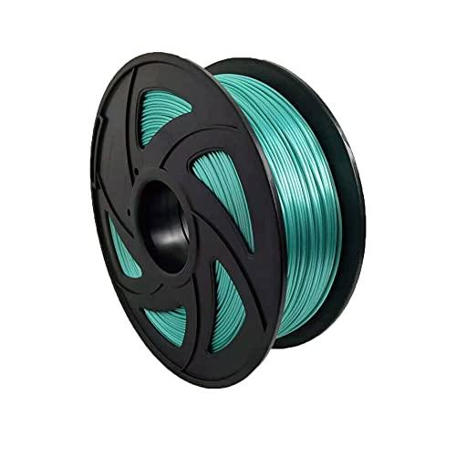 S SIENOC PLA Silk Filament 1KG 3D Drucker PLA Silk Filament 1,75mm 3D Drucker Filament Grün ( PLA Silk Grün )