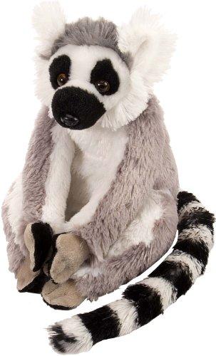 Wild Republic 10880 Ring Tailed Lemur Plush, Cuddlekins Cuddly Soft Toys, Kids Gifts, 20 cm