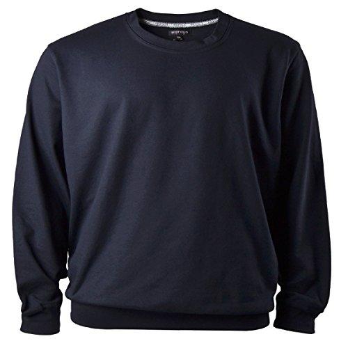 Redfield Sweatshirt Herren Übergröße dunkelblau, XL Größe:7XL