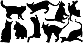 TO_GeT For Home Tools_TgT Cats Wall Stickers Removable Vinyl Home DIY Art Kids Room Decal Mural