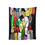 YeeATZ Battle for Bfdi Tapestry - Tapiz de pared (160 x 100 cm), diseño de anime