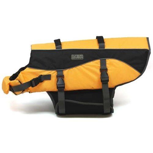 "Kyjen Outward Hound Life Jacket Extra Small Orange 5"" x 11"" x 7"""