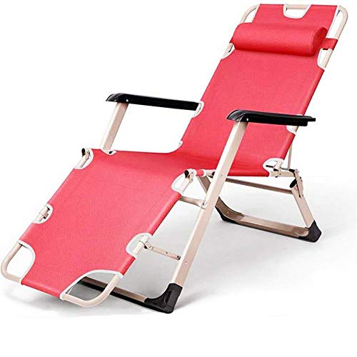 BSJZ Tumbonas y sillones reclinables para jardín Tumbona Plegable Ajustable 178 & Times; 47 & Times; 25 cm Sillón reclinable de Playa para Piscina de Playa Patio al