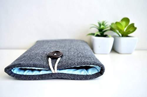 Herringbone Kindle Sleeve Case, Paperwhite, Voyage, Oasis, Amazon Fire, Custom Size