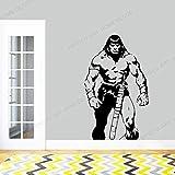 wopiaol Autocollant Moderne Conan Barbare Gladiateur Bande dessinée Vinyle Mots Lettres Simples Autocollants muraux Amovibles Salon
