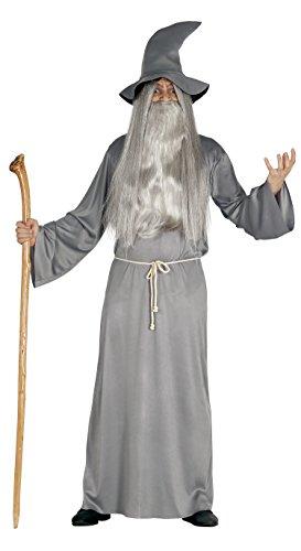Guirca- Disfraz adulto mago, Talla 52-54 (84466.0)