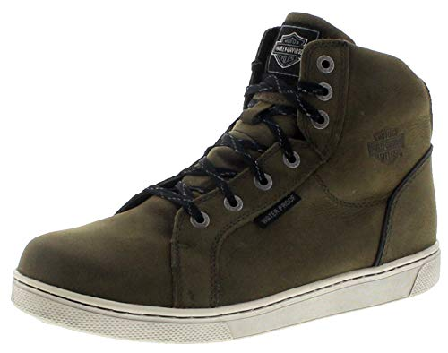 FB Fashion Boots Herren Sneaker D97134 Schnürschuhe High Top Grün inkl. Schuhdeo 45 EU