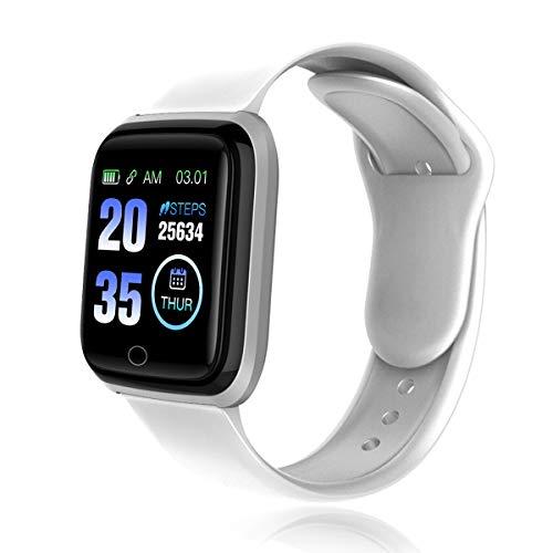 Smartwatch, Orologio Intelligente Uomo Donna Smart Watch 1,3 Pollici HD Schermo, con monitoraggio della frequenza cardiaca per il monitoraggio del sonno Pedometro SMS Tracker Per Android e iOS