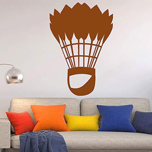guijiumai Klassische Badminton Sport Kunst Wandaufkleber Für Wohnkultur Wohnzimmer Wanddekoration Aufkleber Aufkleber Tapeten Wandbilder 4 XL 58 cm X 85 cm