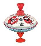 Bolz 52362 - Trottola Disney Mouse, 16 cm, in lamiera, Motivo: Topolino, con piedistallo, per Bambini dai 18 Mesi in su, Multicolore